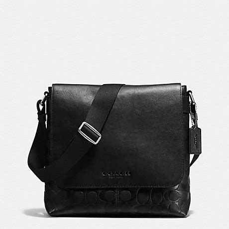 Coach Sulivan Messenger 1 coach f72110 sullivan small messenger in signature