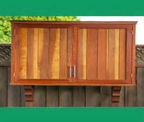 Outside Patio Doors Outdoor Tv Cabinet With Double Doors Building Plan Diy