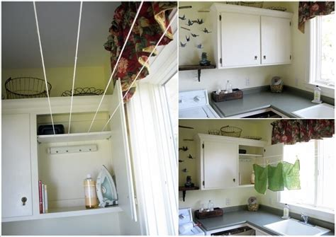 laundry room hanging solutions top 28 hanging space solutions 10 clever clothes hanging solutions for your laundry room