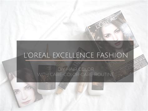 L Oreal Excellence Fashion stylecentric diy hair coloring with l oreal excellence
