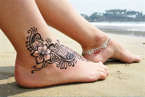 imagenes de tatuajes de henna para mujeres dise 241 os de tatuajes de henna para pies