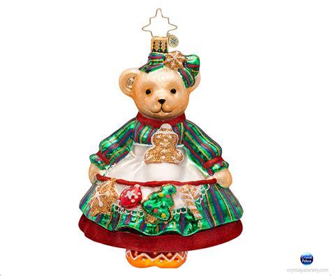 no baking christmas ornaments christopher radko muffy baking ornament