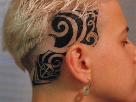 scalp tattoo designs images designs