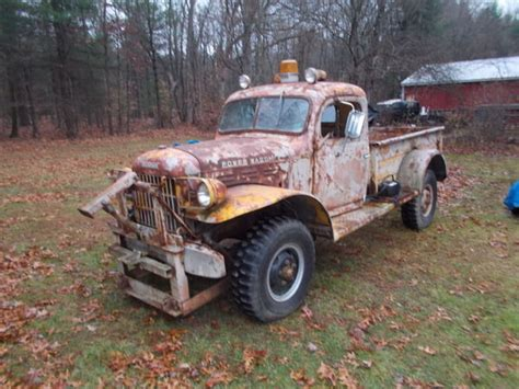 1957 dodge truck parts 1957 dodge power wagon running parts truck classic