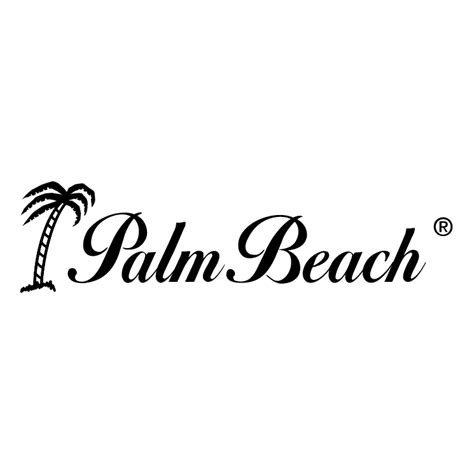 printable beach fonts palm beach free vector 4vector