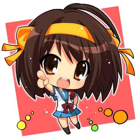 anime chibi chibi anime gallery chibi haruhi suzumiya anime girl