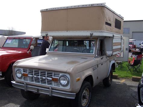 classic ford bronco with pop up cer early ford bronco