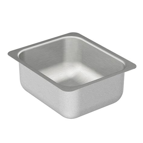 stainless steel undermount bar sink moen 2000 series undermount stainless steel 12 in single