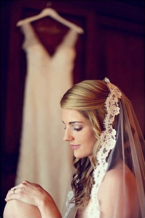 25  best ideas about Mantilla veil hair on Pinterest