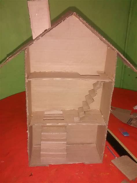 como hacer una casa para munecas de carton como hacer una casita de mu 241 ecas de cart 243 n youtube
