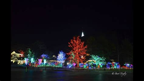 stone mountain park christmas lights youtube