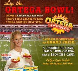 Big Bowl Gift Card - ortega bowl sweepstakes instant win game win a 500 best buy gift card more