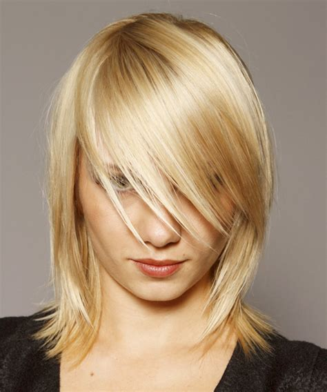casual hairstyles for medium thin hair medium straight casual hairstyle