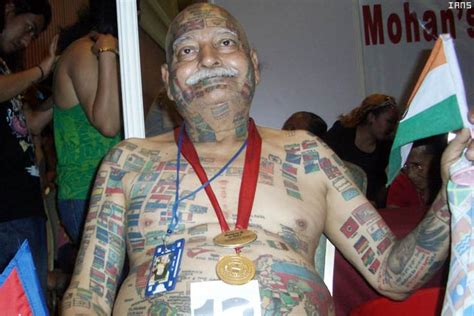 full body tattoo old man flag tattoos and designs page 23