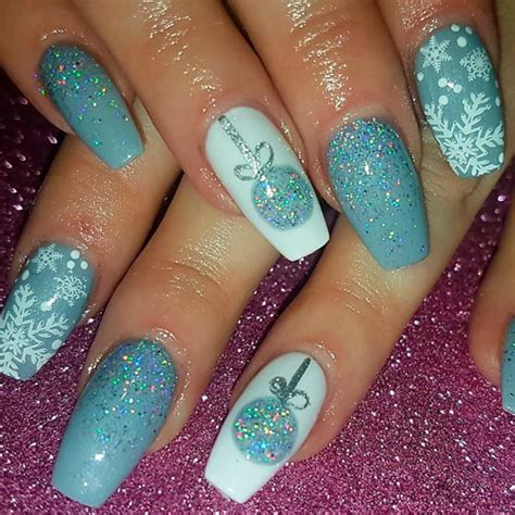 2018 christmas nails theme 54 best nails of instagram for 2018 favhq