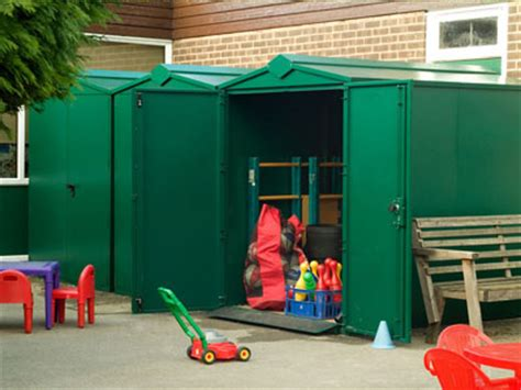 Playground Storage Sheds by School Pack 1 Secure Playground Storage Shed Asgard