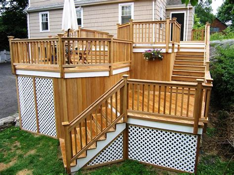 Plans for Wood Deck Designs