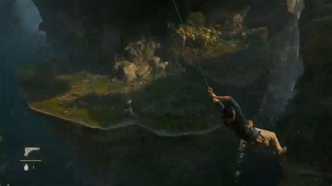 drake swinging psx 2014 uncharted 4 gameplay shows off new mechanics ign