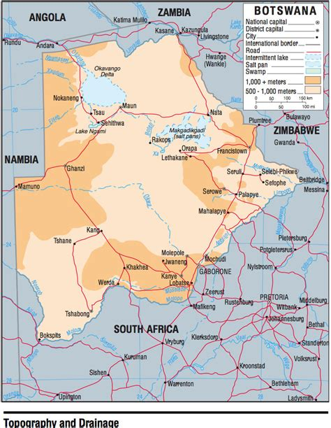 botswana on a world map botswana maps