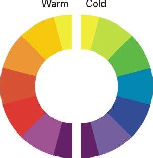 cold colors mettre en valeur warm colours vs cold colours