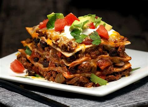 Todays Special Mexican Style Lasagna by Kraft Mexican Style Lasagna Recipe
