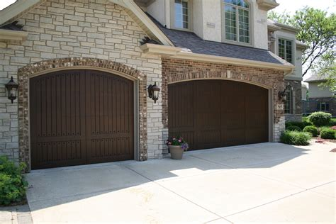 Carriage House Garage Doors Faux Wood French Country Country Garage Doors