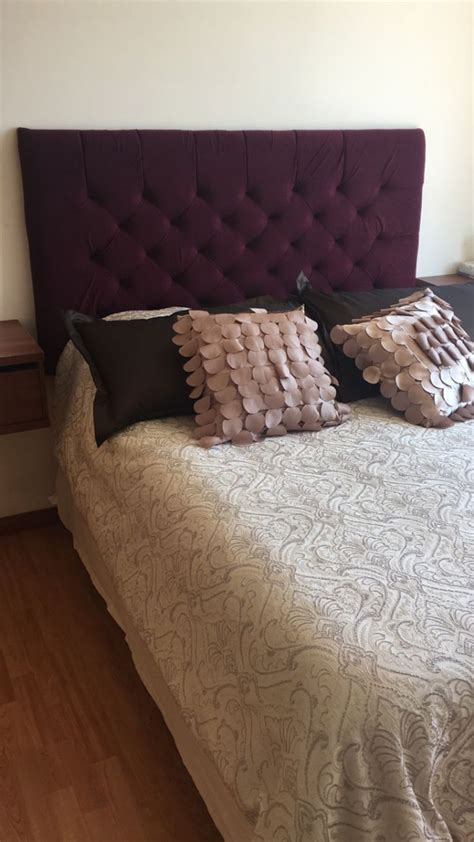 cabecera  cama matrimonial  en mercado libre