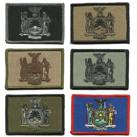 state tactical patches 2x3 new york state tactical patch