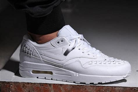 Nike Air Max 90 Woven All White nike air max 1 woven quot white quot freshness mag