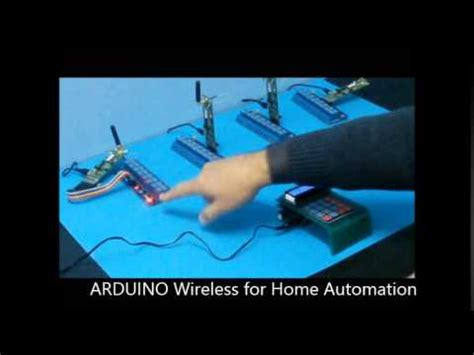 wireless home automation using arduino