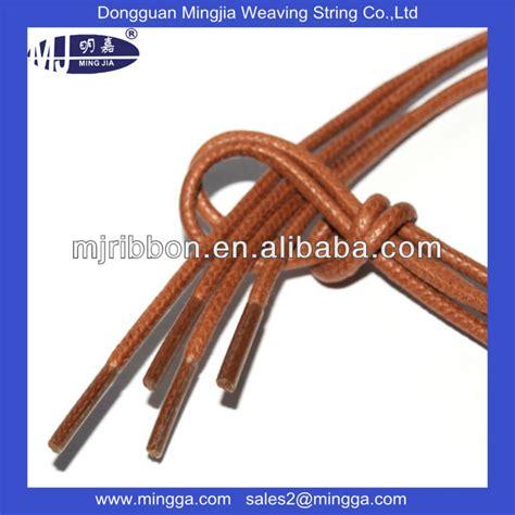 sale cotton leather shoe laces with