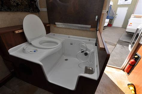 rv shower toilet sink combo fiberglass shower toilet combo pictures to pin on