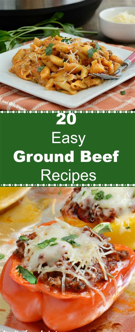 20 easy ground beef recipes meatloaf and melodrama
