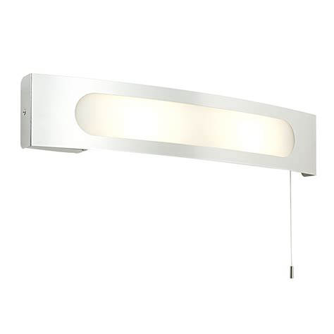 Modern Decorative E14 Curved Ip44 Pull Cord Bathroom Wall Bathroom Wall Lights With Pull Cord
