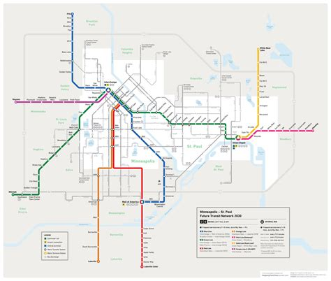 chicago light map future minneapolis st paul transit map we are