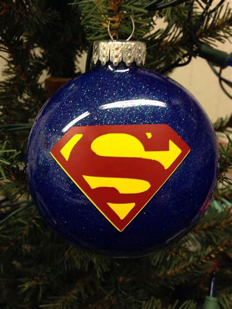 holiday christmas tree ornament marvel comic superhero