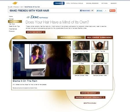 Make Friends With Your Hair And Win by Win A Dove 174 Make Friends With Your Hair Tv Ad Or Trip To