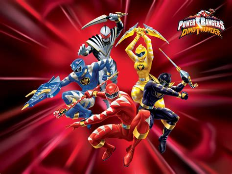 Mainan Power Ranger 5 Dino 28374 mainan power rangers dino thunder mainan toys