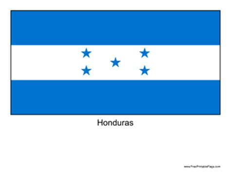 Honduras Flag Outline by Honduran Flag Outline Www Pixshark Images Galleries With A Bite