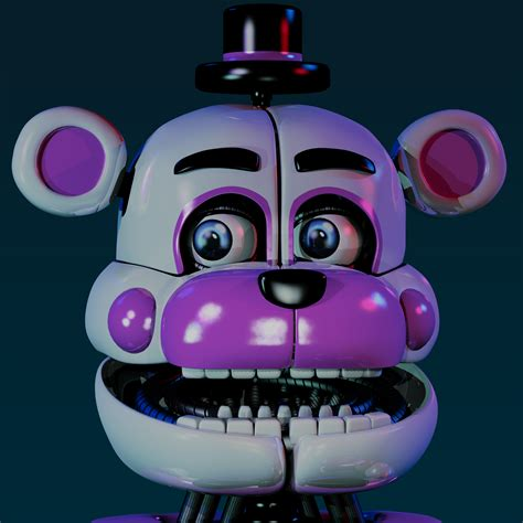 funtime freddy v4 by jorjimodels on deviantart