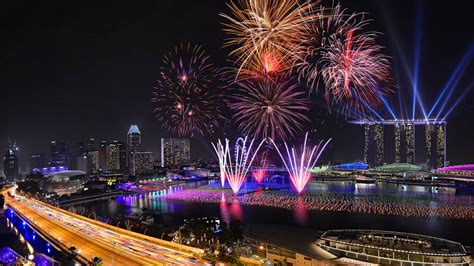 new year lights singapore singapore the happy new year hotel celebration laser light