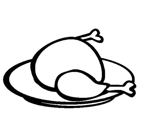 coloring page of chicken leg hot chicken drumstick peter griffin has chicken wing