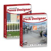 homedepot deck and fence design software free
