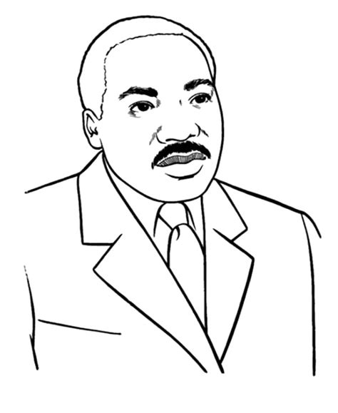 coloring page martin luther king day martin luther king coloring pages printable coloring