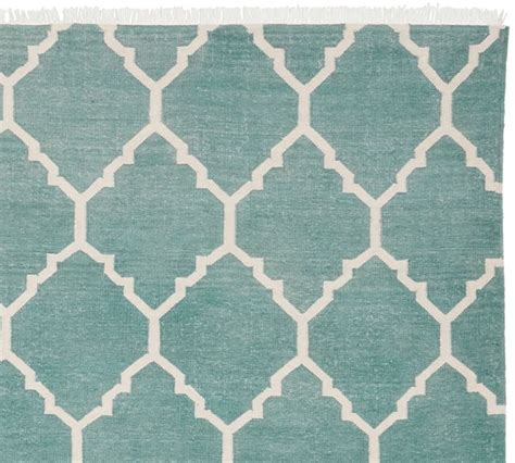 Aqua Blue Rug by Aqua Blue Natalie Dhurrie Rug Everything Turquoise