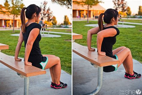 bench ups get off the bench 6 workouts to do while at the park with