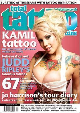tattoo magazine logo total tattoo magazine logos wallpapers