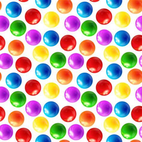 color balls color balls seamless pattern vector free