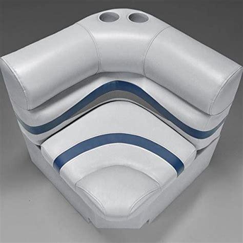 deckmate boat seats deckmate deckmate premium 28 quot corner pontoon seats gray