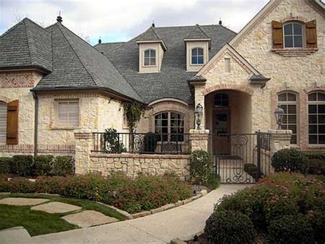 one story french country house plans with stone country ranch home to country french exterior joy studio design